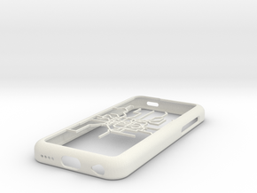 Shanghai Metro map iPhone 5c case in White Natural Versatile Plastic