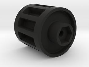 Radio Shack Mattracks Wheel Adapter in Black Natural Versatile Plastic