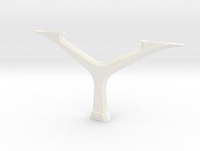 Y-support Peoplemover 1:50 in White Processed Versatile Plastic