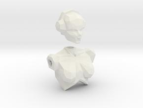 LoveLego: Player. in White Natural Versatile Plastic