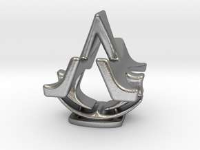 Assassins Creed Desk Sculpture in Natural Silver