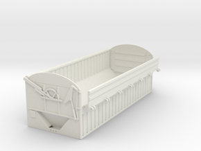 Spudnik 22' Potato box 1/64th in White Natural Versatile Plastic