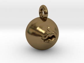 Pucker Up 2'' Pendant  in Polished Bronze