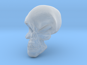 Little Scary Skull in Smooth Fine Detail Plastic