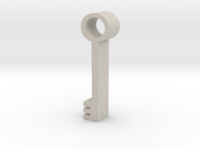 Key in Natural Sandstone