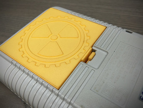 Battery Cover compatible to Nintendo® Game Boy™ in Yellow Processed Versatile Plastic