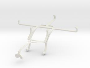 Controller mount for Xbox 360 & Apple iPhone 6 Plu in White Natural Versatile Plastic