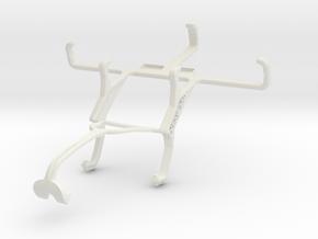 Controller mount for Xbox 360 & BLU Dash 4.0 in White Natural Versatile Plastic