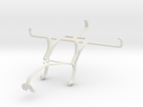 Controller mount for Xbox 360 & HTC One (M8) in White Natural Versatile Plastic