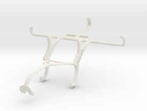 Controller mount for Xbox 360 & LG Nexus 5 in White Natural Versatile Plastic