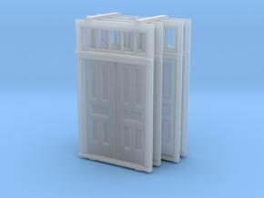 S Scale Elmira Booking Station Door Set in Smooth Fine Detail Plastic