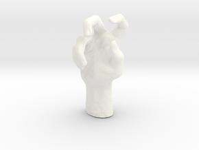 hands in 5cm Passed in White Processed Versatile Plastic