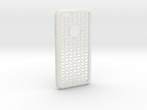 Hexagon iPhone 6 Case in White Natural Versatile Plastic