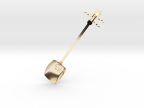 Tsugaru Shami-spoon in 14K Yellow Gold