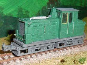 ZB - Gebus D7 - H0e Hon30 in Smooth Fine Detail Plastic
