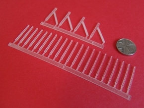 Concrete Fence Posts in Smooth Fine Detail Plastic