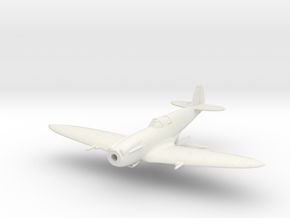 "Spitfire F MkXIVE ""high back"" in White Natural Versatile Plastic: 1:144"