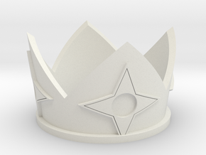 Rosalina Crown inspired by Super Mario Galaxy in White Natural Versatile Plastic