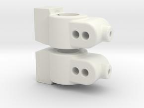 CUSTOMWORKS - HUB CARRIER - 2 DEGREE - SW FILE in White Natural Versatile Plastic