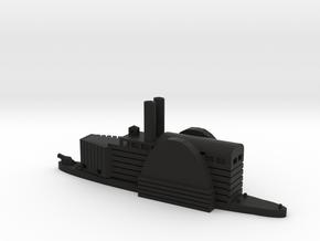 1/600 USS/CSS Queen of The West in Black Natural Versatile Plastic