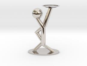 Holding Statue in Platinum