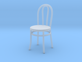 Bistro / Cafe Chair 1/32 in Smooth Fine Detail Plastic