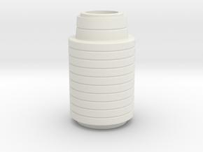 Comlink Grip Revised in White Natural Versatile Plastic