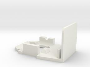 Jodocast's Rapidpistol Front Plate in White Natural Versatile Plastic