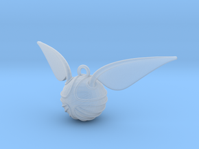 The Golden Snitch pendant in Smooth Fine Detail Plastic