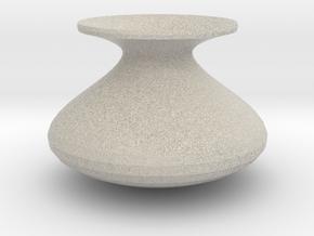 Standard shape vase in Natural Sandstone
