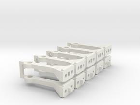 Schaku Kupplung in White Natural Versatile Plastic