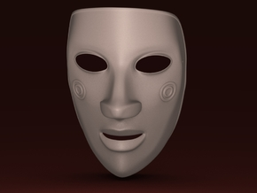 EmptyHeaded Mask (Female) in White Strong & Flexible