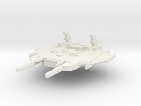Primus Class Battle Cruiser in White Natural Versatile Plastic