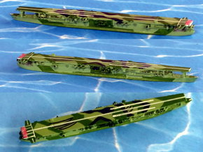 """IJN Aircraft Carrier """"Ryuho"""" 1/2400  in Smooth Fine Detail Plastic"""