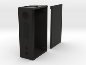 Box Mod Complete With Door in Black Natural Versatile Plastic
