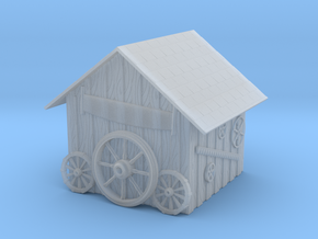 Detailed Rustic Shed #2 in Smooth Fine Detail Plastic