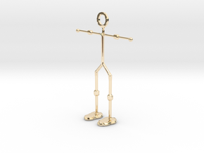 Wireman in 14k Gold Plated Brass