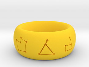 Bard Ring in Yellow Processed Versatile Plastic