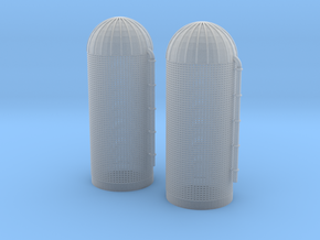 Grain Silo Z Scale in Smooth Fine Detail Plastic