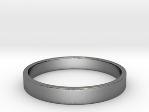 Simple and Elegant Unisex Ring | Size 9 in Polished Silver