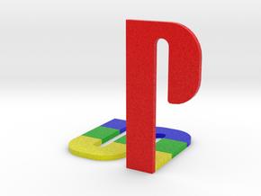 Playstation Logo in Full Color Sandstone
