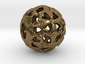PA Ball V1 D14Se4933 in Raw Bronze