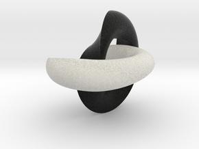 Möbius Torrus double in Full Color Sandstone