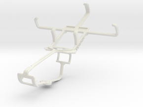 Controller mount for Xbox One & Alcatel Fire C 2G in White Natural Versatile Plastic
