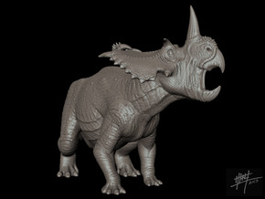Coronosaurus/Centrosaurus brinkmani 1/40 in White Strong & Flexible
