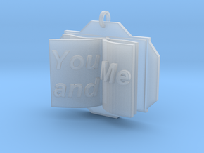You&Me Pendant in Smooth Fine Detail Plastic