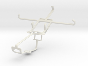 Controller mount for Xbox One & BLU Life Play S in White Natural Versatile Plastic