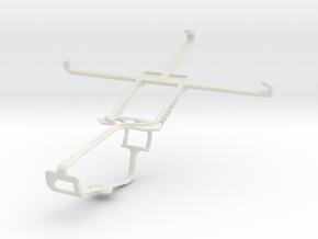 Controller mount for Xbox One & BLU Vivo IV in White Natural Versatile Plastic