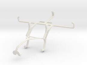 Controller mount for Xbox 360 & Gigabyte GSmart Ar in White Natural Versatile Plastic