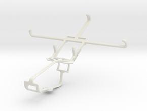 Controller mount for Xbox One & HTC Desire 816 in White Natural Versatile Plastic